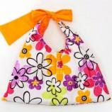 Детска чантичка с цветя