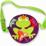 Детска чантичка с жабка