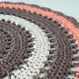 Плетен boho килим Мандала