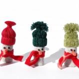 Снежни човечета - коледна украса 2