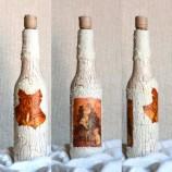 Ръчно изработени бутилки, с техника декупаж. Идеален подарък!