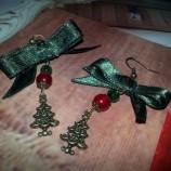 Коледа...Обици ръчна изработка