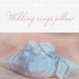 Сватбена възглавничка за халки
