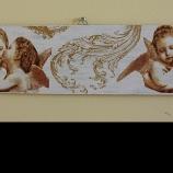 декоративна керамична плочка за стена ж стил декупаж