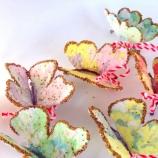 Мартеничка - покълваща пеперуда