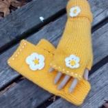 плетени ръкавици без пръсти