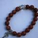 buy Гривна от Авантюрин (Слънчев камък) с украшение ключ in Bazarino