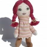 Ани - текстилна кукла