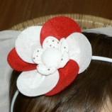 Мартеница - диадема с цвете