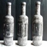 Ръчно изработена бутилка, с техника декупаж. Идеален подарък!