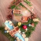 Декоративна къщичка - украса за градина