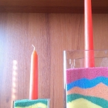 цветен пясък