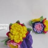 Диадема и брошка Снопче с цветя