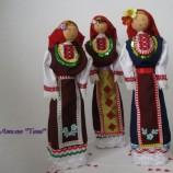 Сувенирни кукли с народни носии