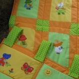 Бебешки комплект Сезони (одеялце / джобарник)