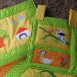 Бебешки комплект (одеялце \ джобарник)