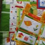 Бебешки комплект Пролет (одеялце / джобарник)