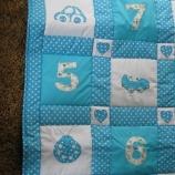 Бебешки комплект за Момиче или Момче (одеялце / джобарник)