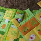 Бебешки комплект Цифри (одеялце / джобарник)