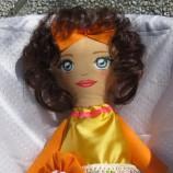 Кукла от текстил ръчна изработка