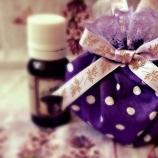 Ръчноизработени, ароматни торбички с лавандулов цвят