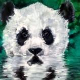 Панда 1  картина