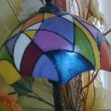 Настолна лампа   '' Цветна симетрия''