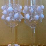 Сватбен комплект чаши