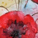 Vase With Poppy Flowers
